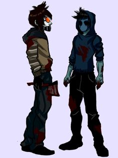 Ticci Toby and Eyeless Jack