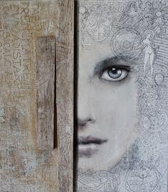 "Saatchi Online Artist: Maria Chiffi; Acrylic, 2012, Painting ""Verso l'Alba"""