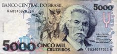 5000 CRUZEIROS 1990 BRAZILIAN.... I love baknotes... And i want to collect them...