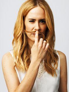 Sarah Paulson as closeted lesbian Lana Winters in American Horror Story: Asylum (2012-2013)