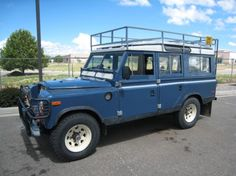 Land Rover Old School