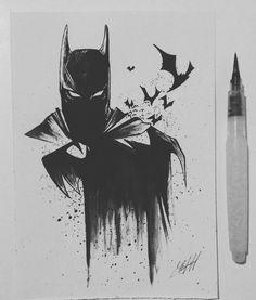 Showcase batman gifts that you can find in the market. Get your batman gifts ideas now. Batman Painting, Batman Drawing, Batman Artwork, Batman Wallpaper, Comic Drawing, Drawing Drawing, Drawing Tips, Batman Tattoo, Comic Tattoo