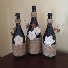 Black Wine Bottles 3
