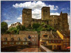 Castle Balduinstein (on the Lahn-Germany-)