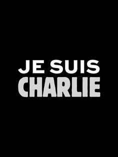 """Charlie Hebdo Je Suis Charlie=""""I am Charlie.""""-But the magazine that withstood so much and offended so many has finally been silenced. Today, visitors to the Charlie Hebdo website find only a single graphic. """"Je suis Charlie,"""" it reads. Slogan, Such Und Find, Charlie Hebdo, Charlie Charlie, Emotion, Freedom Of Speech, Freedom Freedom, Expressions, Statements"""