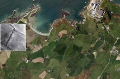 Early Roman era fort found on Welsh island.  Archaeologists say they have made a ground-breaking discovery on Anglesey. Experts have found what appears to be a small Roman fort on land near Cemlyn Bay and close to the Wylfa power station,. An new Roman era 'fortlet' has been found on Anglesey  [Credit: Gwynedd Archeological Trust]
