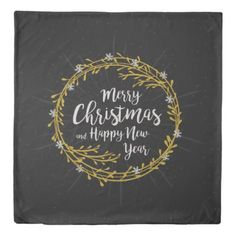 Christmas Wishes duvet covers - Xmas ChristmasEve Christmas Eve Christmas merry xmas family kids gifts holidays Santa