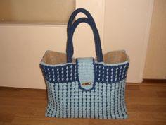 8 Beste Afbeeldingen Van Ah Tas Crochet Tote Crochet Bags En