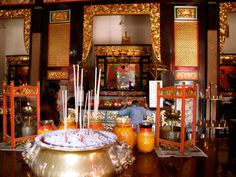 Tu Di Gong | In and Around Penang Pt. 2 Guanyin, Alters, Table Decorations, Furniture, Home Decor, Decoration Home, Room Decor, Home Furnishings, Home Interior Design