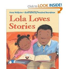 A Lola le encantan los cuentos/Lola Loves Stories by Anna McQuinn. Mama reads Lola a book about tigers. The next day, Lola chases a friend through the jungle. ¿En que se convertirá Lola mañana? What will Lola become tomorrow? Music Games, Anna, Great Books, My Books, Story Books, Next Children, Mighty Girl, Lulu Love, American Children