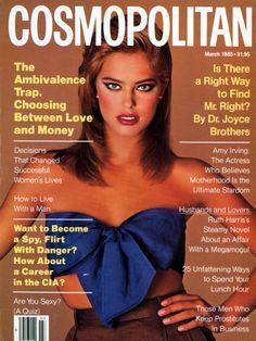 Amy Irving, Francesco Scavullo, Renee Simonsen, Cosmo Girl, Fashion Mag, 80s Fashion, Roxy Music, Original Supermodels, Cosmopolitan Magazine