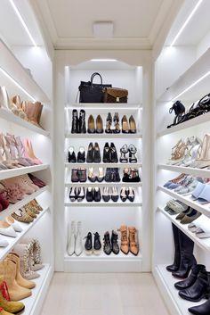 Bedroom Closet Design, Master Bedroom Closet, Closet Designs, Shoe Room, Wardrobe Room, Luxury Closet, Walk In Closet, Dream Closets, Beauty Room