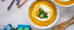 Root vegetable soup with yoghourt – recipe courtesy of Jalna