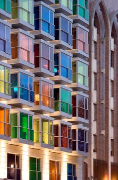Hotel Hesperia Bilbao by IA+B y GCA Arquitectes (Bilbao, Spain) #architecture