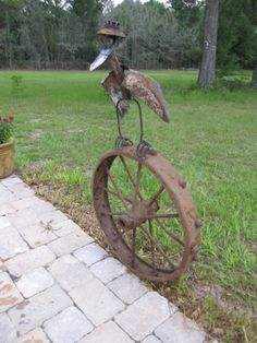 "Figure out additional relevant information on ""metal tree wall art decor"". Look at our site. Metal Yard Art, Metal Tree Wall Art, Scrap Metal Art, Recycled Metal Art, Metal Artwork, Metal Wall Flowers, Metal Birds, Metal Art Projects, Metal Crafts"