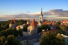 Tallinn old city sunset. Tallinn estonia old city center cityscape panorama sigh , Baltic Cruise, Best Honeymoon Destinations, Cities In Europe, Parcs, Cruise Vacation, Vacation Rentals, Old City, Trip Advisor, Places To Visit
