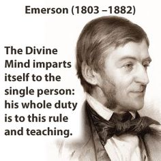 """Ralph Waldo Emerson, (U.S.A.), promoted the power of the individual. Emerson can be summarized by this quote: """"Do not go where the path may lead, go instead where there is no path and leave a trail."""" He was a powerful influence on the American ideal of individualism."""