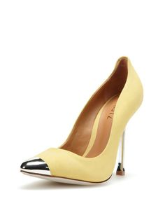 Sheria Pointed-Toe Pump by Schutz at Gilt