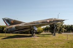 """2005-06-10. A Total of 401 Mirage 3's have been build. This Dassault Mirage IIIE number 401 was the last to be build and currently preserved at a roundabout at Saintes (France) near the Saintes - Thénac Air Base (EETAA 722) / Ecole d'enseignement technique de l'armée de l'air 722 Saintes – Thénac """"Capitaine Albert Raffin"""""""