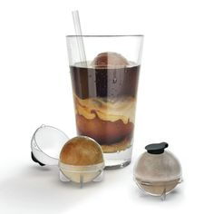 A perfect gift for the iced coffee lover in your life, this interesting little invention keeps your iced coffee from getting diluted by melting ice.  Read More On VintageAndKind.com
