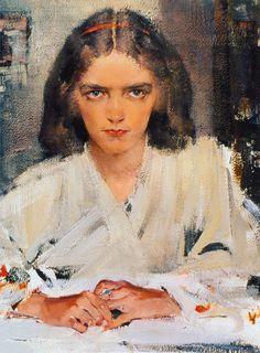 Nicolai Fechin  --- chasingtailfeathers      Nicolai Fechin (1881-1955), c. 1930