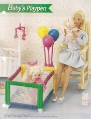 stitch doll furniture in plastic canvas free pattern - Google Search
