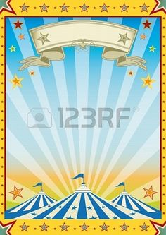 A new color circus background