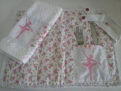 Jogo americano infantil Bailarina 30, Placemat, Decorative Items, Hand Towels, Ballerina, Plays, Blankets, Needlepoint