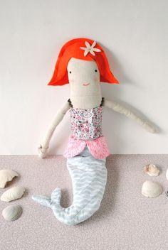 Mermaid Doll pattern / #Mermag / #Sarah jane