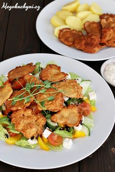 Kuřecí rarášci Kung Pao Chicken, Tandoori Chicken, Czech Recipes, Ethnic Recipes, Potato Salad, Chicken Recipes, Good Food, Food And Drink, Cooking