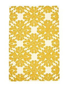 I really want a rug like this... at least this color, but I like the pattern, too.