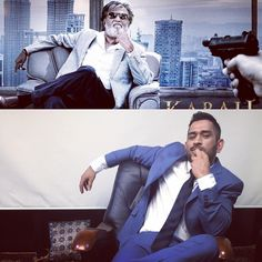 Tried copying the pose of The One and Only THALAIVAR