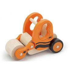 Wooden Road Roller