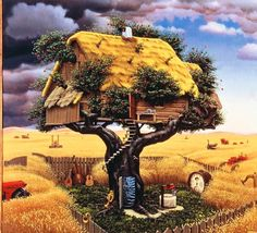 illustrazioni fantastiche | fantastic-illustrations-by-jacek-yerka03