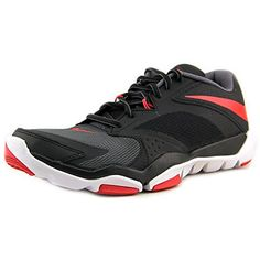 New Nike Mens Flex Supreme TR 3 Cross Trainer GreyDaring Red 105 >>> You can get additional details at the image link.