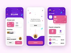 User Interface Design Inspiration : Every day most digital designers look for inspiration on sources like Dribbble or Behance for mobile and. Web Design Mobile, App Ui Design, User Interface Design, Flat Design, Design Design, Graphic Design, Design Thinking, Motion Design, Goal App