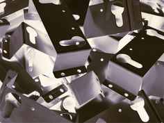 Mild steel, stainless steel and aluminium sheet metal brackets manufactured to your own designs Aluminum Sheet Metal, Sheet Metal Work, Aluminium Sheet, Portsmouth, Hampshire, Angles, Metal Working, Cube, Stainless Steel