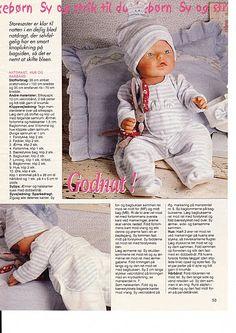 Album Archive - Dukketøj til Baby Born 2 - Ingelise Doll Dress Patterns, Doll Sewing Patterns, Sewing Dolls, Knitting Patterns, Baby Born Clothes, Knitting Dolls Clothes, Diy Doll, Stuffed Toys Patterns, Barbie Dolls
