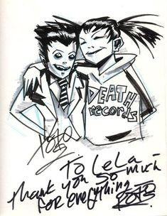 Sketch by Gerard