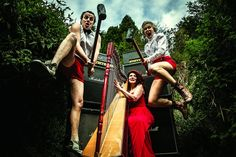 Tumble Circus (IRE) - Vaudeville / Circus. At the Woodford Folk Festival 2014/15.   For more info visit: http://www.woodfordfolkfestival.com