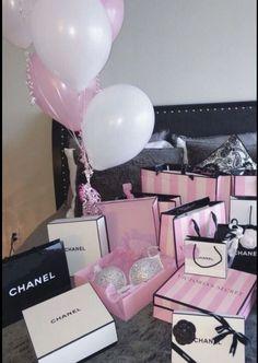 Birthday Goals, 21st Birthday, Birthday Presents, Girl Birthday, Pink Car Accessories, Rich Kids, Everything Pink, Pink Aesthetic, Birthday Decorations