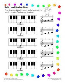 Worksheets and other helps for teaching piano...I'll have to check this out.  I want to start teaching my girls the basics of the piano.