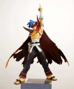 Kamina Gurren Lagann figurine. Another one to add to the ever--growing list of things I want. #thisiswhyimbroke