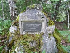 """MacGregor Grave Memorial, Lochaber - """"Buried Here are some MacGregors Put to Death About 1612 by Alistair - Nan - Cleas 10th Chief of Keppoch"""""""