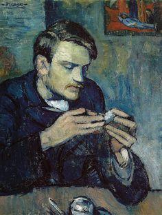 Све величине | Пабло Пикасо - Портрет Матеу Фернандез де Сото, 1901 у Оскар Реинхарт уметничка збирка Винтертхур Швајцарска | Флицкр - Пхо ...