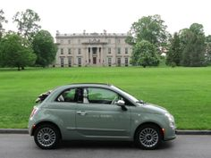 2012 Fiat 500C Cabrio in green. All I have to do is get a grown up job, pay off my student loans and then I can get this, right?