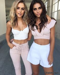 Outfit on the right