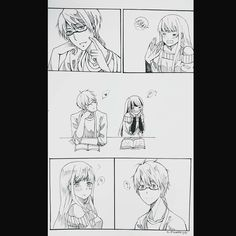 Zen x Mc 2/3 Mystic Messenger Comic, Am I In Love, Jumin Han, Comic Pictures, My Prince, Cartoon Drawings, Anime Couples, Red Roses, Anime Art
