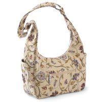 Tan Tapestry Bag