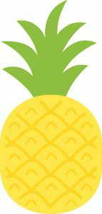 I think I'm in love with this shape from the Silhouette Design Store! Crafts For Kids, Arts And Crafts, Paper Crafts, Diy Crafts, Pineapple Clipart, Do It Yourself Baby, Silhouette Online Store, Towel Crafts, Flamingo Party